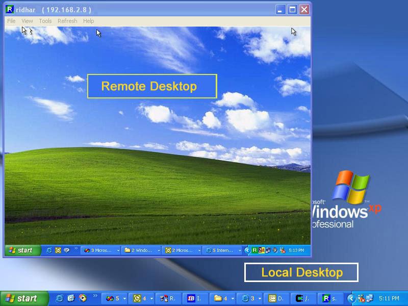 Remote Access Host Screenshot