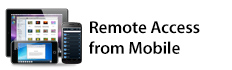 Remote Access from Mobile
